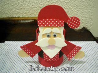 Regalos Navideños en Foami o Goma Eva para los niños ~ Solountip.com