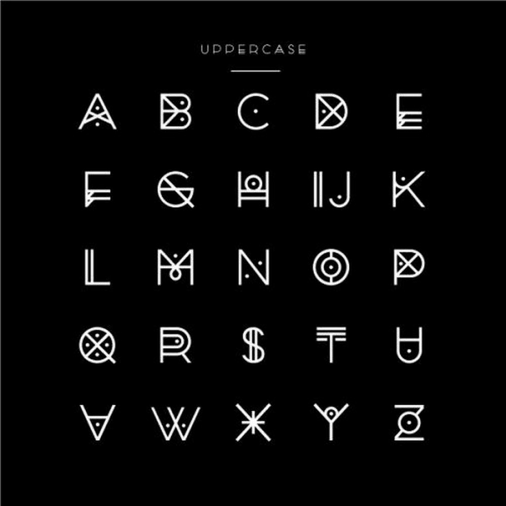 Awesome Typography Alphabet Design (72)