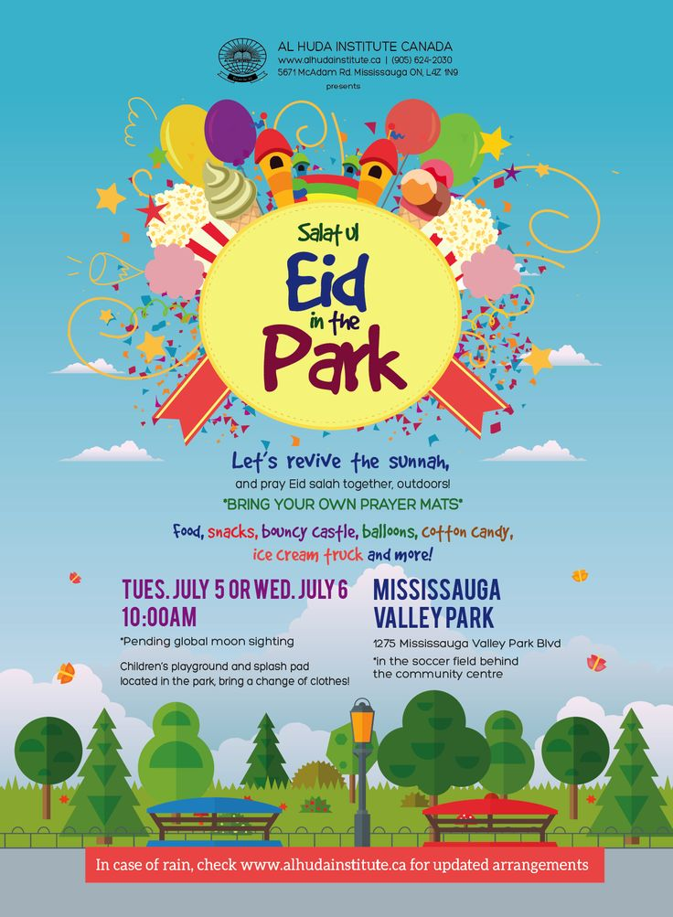 Eid in the Park #Eid2016