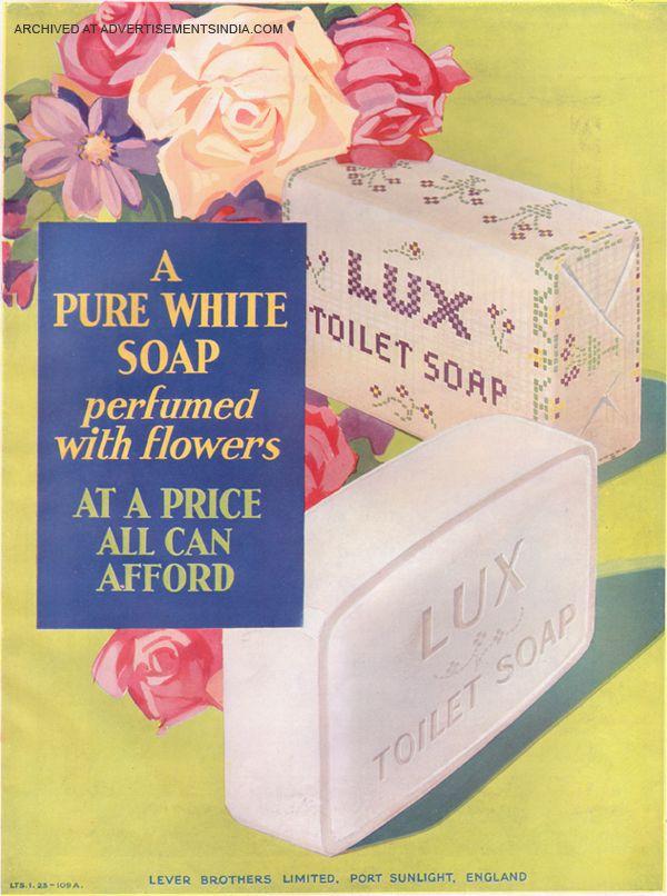 LUX Soap Vintage -ad