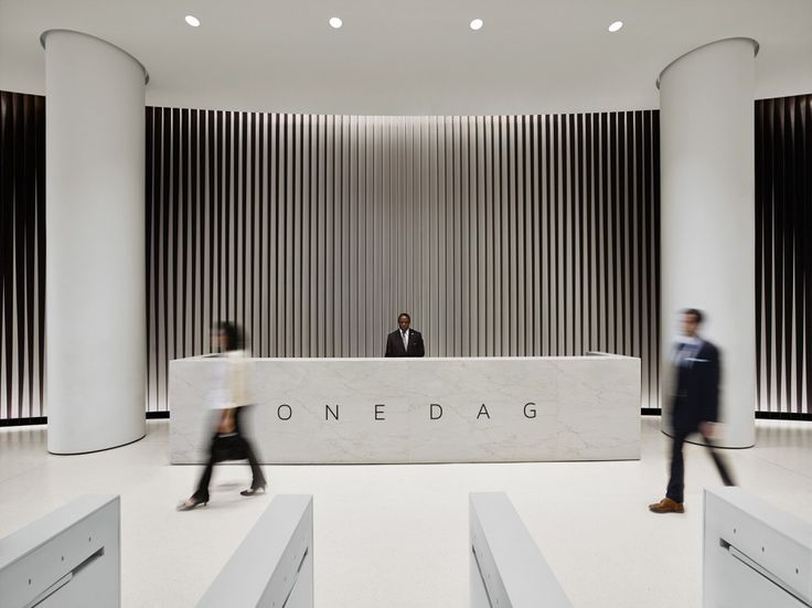 Modern Reception Desks Design Inspiration