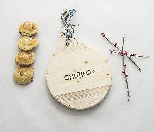 DIY handmade ChopperArt natural kitchen    Drevený lopár: Chutilo