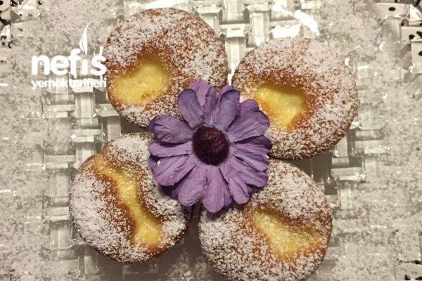 Vanilya Puding Dolgulu Müthiş Muffinler (Bu Tarif Kaçmaz)