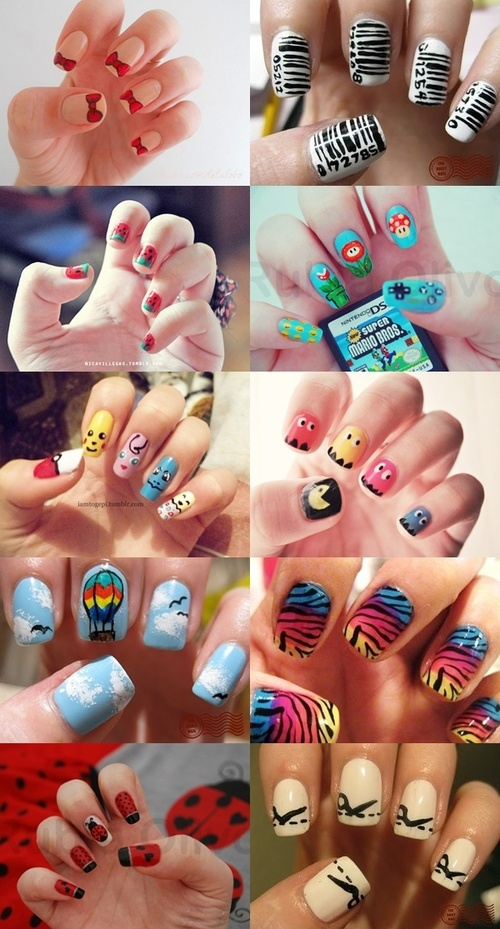 different nail art ideas