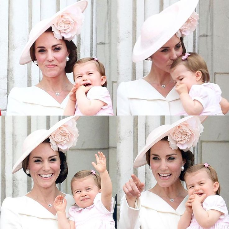 Special Mother-Daughter moments shared at Trooping the Colour today