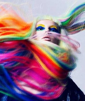 colorful hair   Tumblr