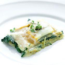 Najlepsza lasagne ze szpinakiem - Przepis