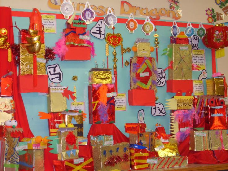 Classroom Ideas For New Years : Chinese new year bulletin board idea language