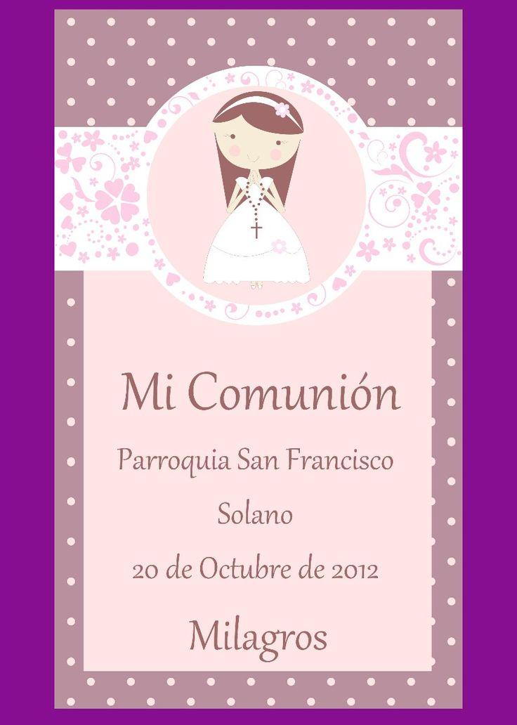 312 best images about comunion on pinterest - Como hacer tarjetas para comunion ...