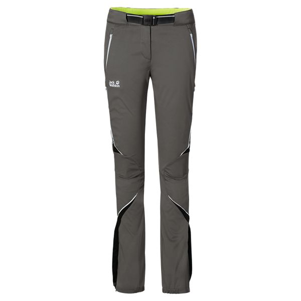 Very stretchy, windproof and highly water-repellent cross-country ski pants with a fleece lining - More trousers - Trousers - Apparel - Women - Jack Wolfskin International 150EUR