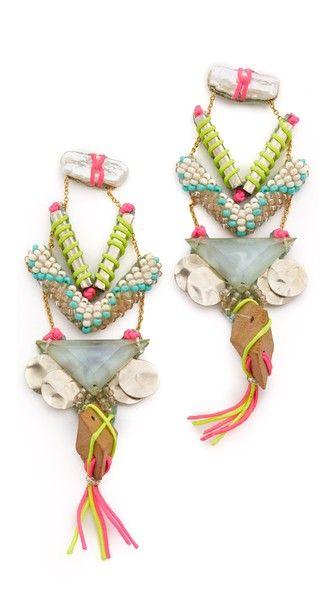 Deepa Gurnani Kimeo Earrings | SHOPBOP
