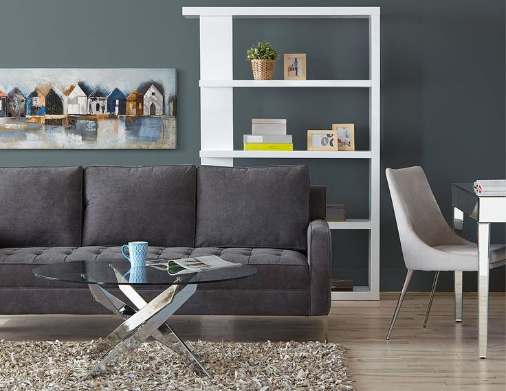 Structube Living Room Sofas Loveseats Miami Charcoal Build Me