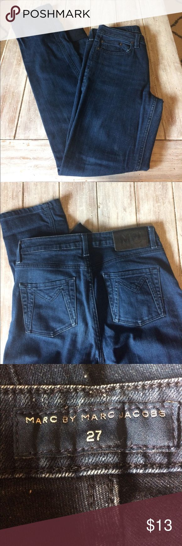 Marc by Marc Jacobs jeans Marc Jacobs straight cut jeans Marc By Marc Jacobs Jeans Straight Leg