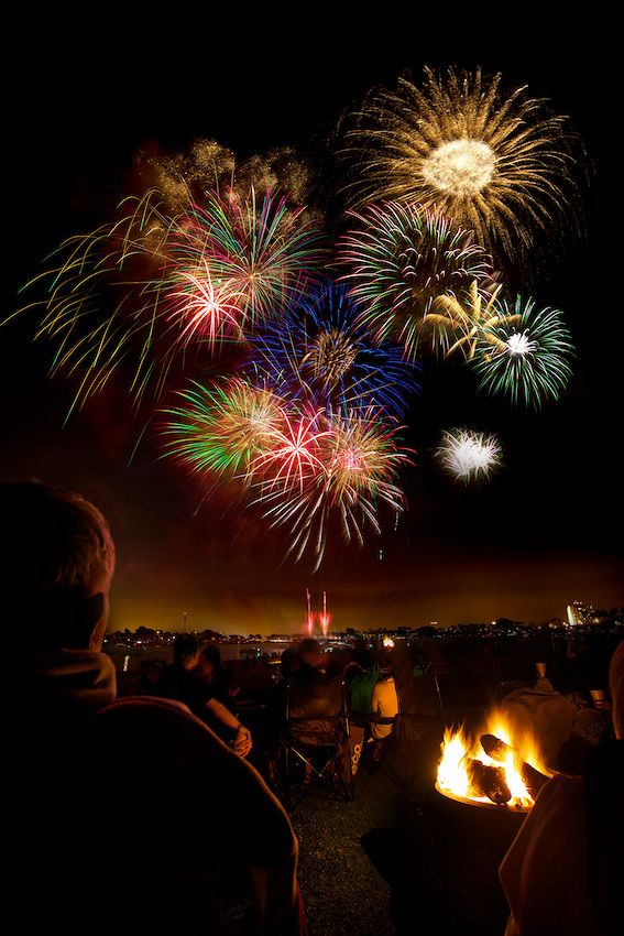 How to Take Photos of Fireworks – Mission Bay, San Diego, CA – by Daniel Peckham