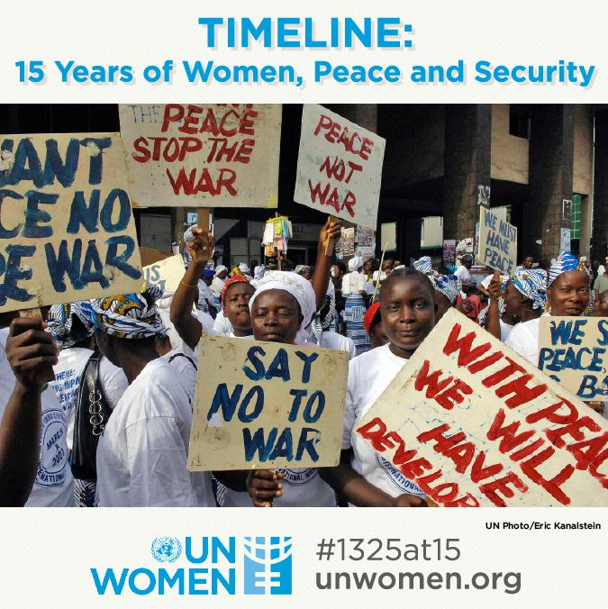 Since the adoption of resolution 1325, women's participation in peace and security decision-making has been key to preventing conflict and securing peace. To take an in-depth look and assess progress