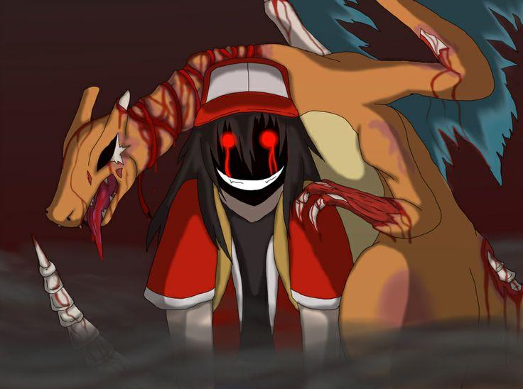 Strangled Red and Miki. A Pokemon Creepypasta: http://creepypasta.wikia.com/wiki/Strangled_Red