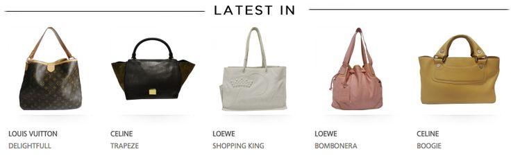 Atención a los nuevos productos de nuestra web. Bolsos que no te dejarán indiferente #LouisVuitton #Loewe #Celine #Fendi