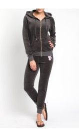Hoodie Regent Scroll Relaxed Jacket TOP HAT - Juicy Couture - Designers - Raglady