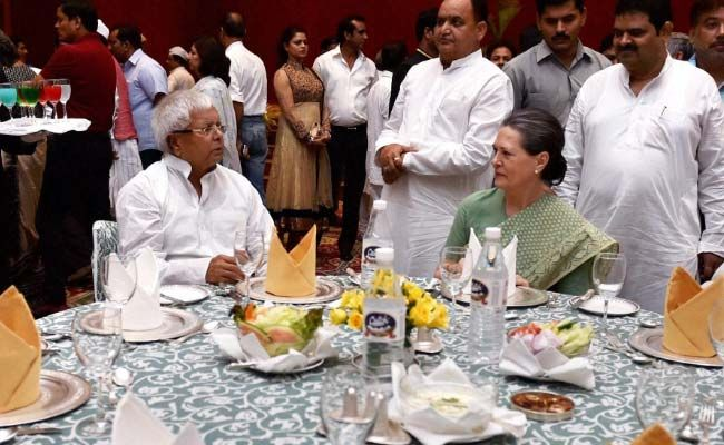 pictures of sonia gandhi with nitish and lalu - Google Search