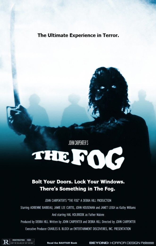 "The Fog - John Carpenter 1980 - DVD07816 -- ""An eerie, supernatural vengeance is let loose upon a town whose past is steeped in greed and murder..."""