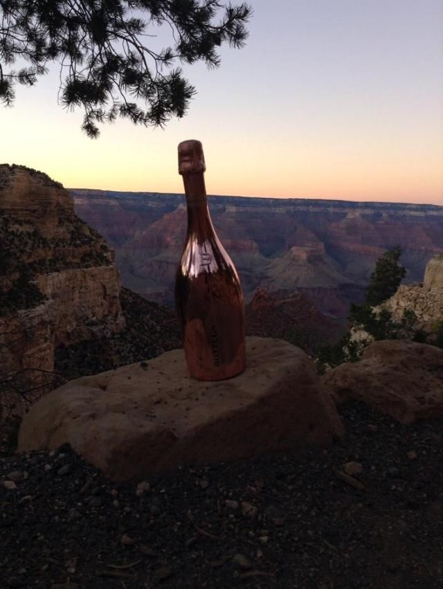 Watched the sun set over the grand canyon