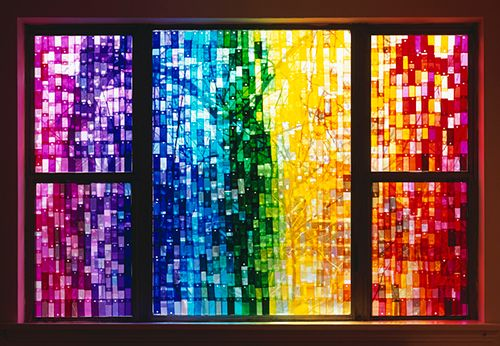 Stained Glass Window by Jessica Eaton