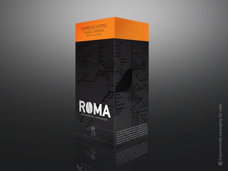 Espresso Roma Box packaging