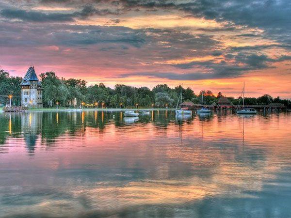 Lake Palic, Serbia