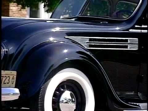 ▶ Rex Barrett's1936 Chrysler Imperial Airflow Coupe. We go for a ride! Rex belongs to the Airflow Club of America, the same club that I do.  He and this fabulous coupe are in Illinois. You should have seen the car before restoration! (I did!). WOW!...quite a makeover!