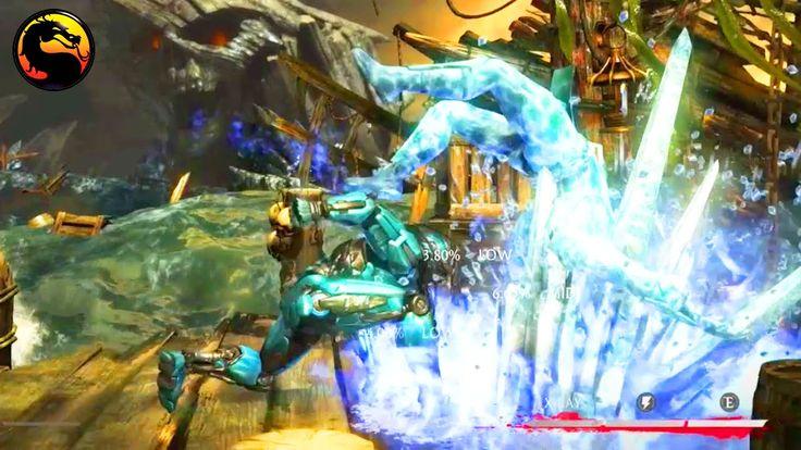"""Mortal Kombat X: Cyber Sub Zero Insane Corner Offense - Mortal Kombat XL """"Triborg"""" Cyber Sub Zero - Videot --> http://www.comics2film.com/mortal-kombat/mortal-kombat-x-cyber-sub-zero-insane-corner-offense-mortal-kombat-xl-triborg-cyber-sub-zero/  #MortalKombat"""