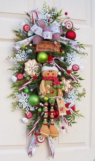 Festive Christmas Door hanging                                                                                                                                                                                 More