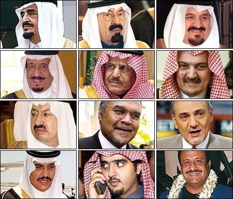 Saudi Arabia - Who's Who in the House of Saud