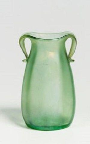 Jutta Sika (Austrian, 1877–1964)     Vase, Nr. 85/3870 , 1901      glass