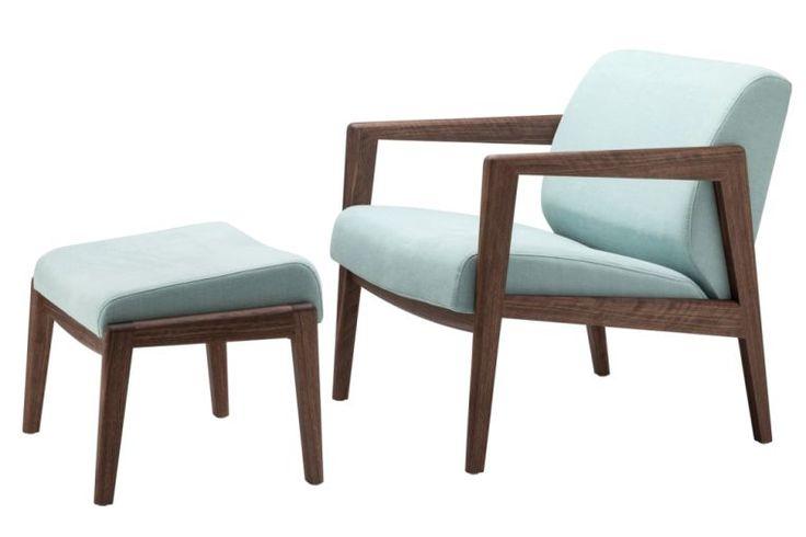 Grafische Kontur trifft auf gepolsterte Gemütlichkeit - THONET-Möbel - Stühle, Tische, Sessel und Sofas, Design-Klassiker aus Bugholz und Stahlrohr