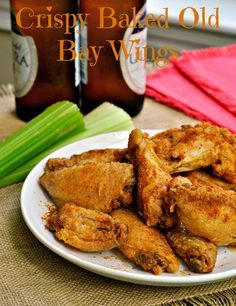 Crispy Baked Old Bay Wings - how to make this healthier?   Skinless chicken breast strips, decrease butter (a lot!).