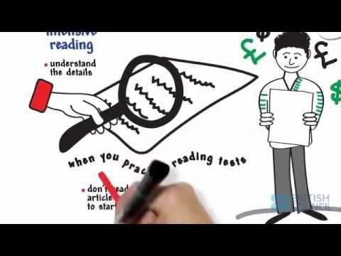 IELTS READING TIPS FROM British Council !!