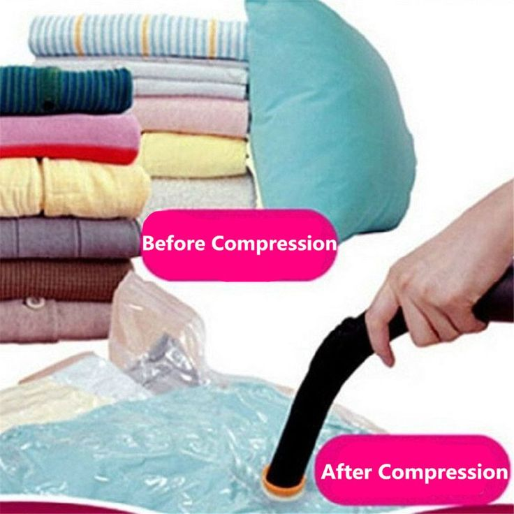 High Quality 50*70/60*80/70*100/80*110 Home Vacuum Clothes Storage Bag Quilt Vacuum Compressed Space Bag