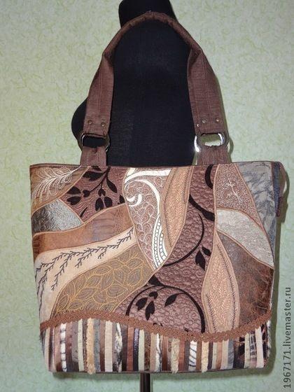 """сумочка из серии """" Краски осени"""" . - Эксклюзивная сумка,отличный подарок"""