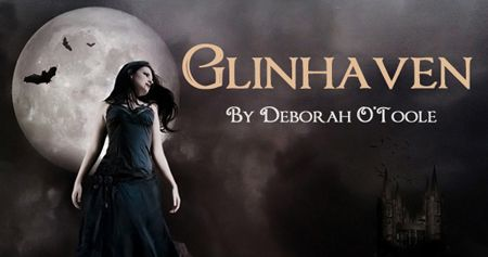 "Promo button preview from upcoming ""Glinhaven"" web site. Book page: http://deborahotoole.tripod.com/books_glin.htm"