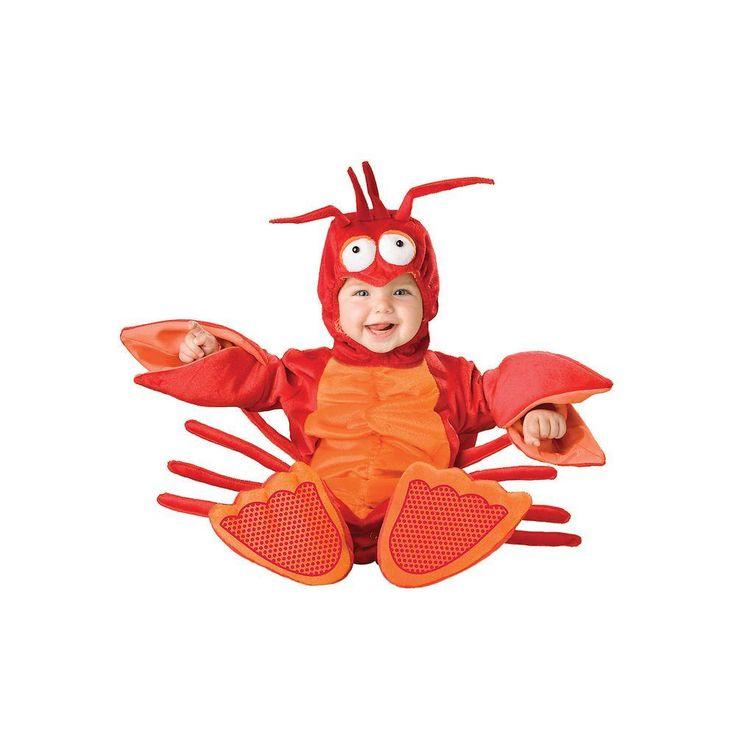 Infant Toddler Lil Lobster Costume, Toddler Unisex, Multicolor
