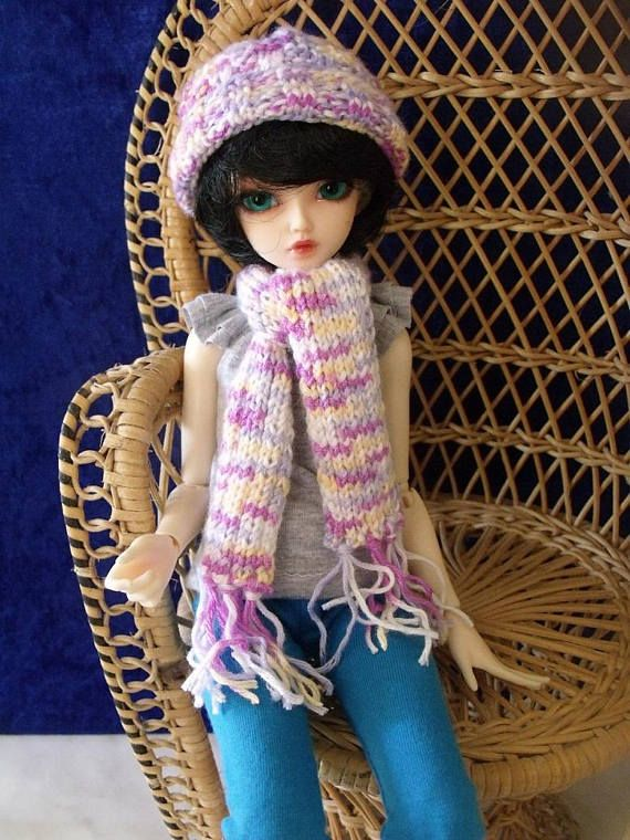 3 x BJD winter set   Knitted 1/4 MSD Free shipping