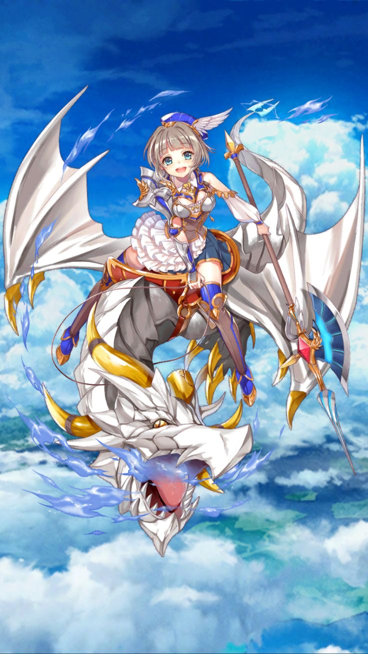 Pin by Reena M on 白猫 Fantasy girl, Anime, Dragon slayer