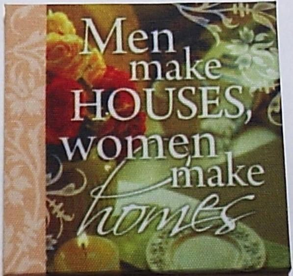 H&H Canvas Art Magnets with Sentimental Quotes on your Fridge ideal gift  | eBay