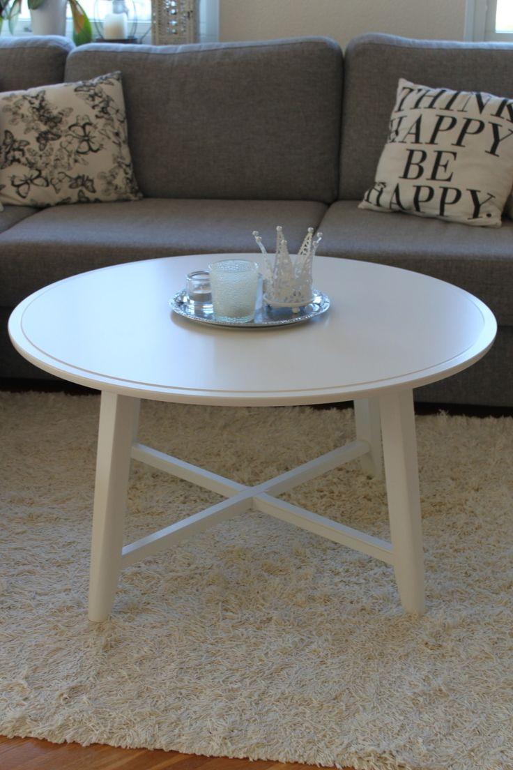 Nya soffbordet (KRAGSTA, IKEA) på plats! Ja det var till och med uppbyggt när jag kom hem från jobbet igår. Jag är på väg mot skolan, ska gå till bussen i ett soligt småland. Denna veckan ska jag plugga så mycket jag bara orkar eftersom Elion är mestadels hos F. Ska även försöka få till [...]