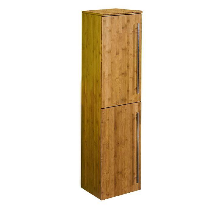 e-combuy Angebote Badezimmer Hochschrank BALI197 Bambus massiv, seidenmatt lackiert: Category: Badezimmerschränke Item…%#Quickberater%