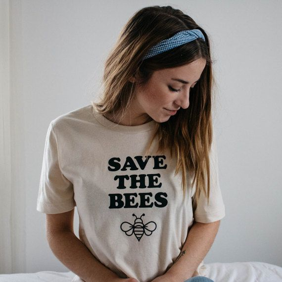 Save the Bees Shirt Bee Shirt Bees Tee Beekeeper Shirt