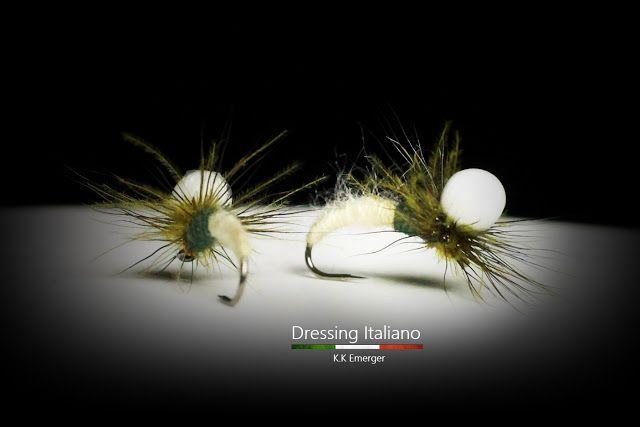 Dressing Italiano: Costruzione mosche emergenti: K.K EMERGER by Dress...