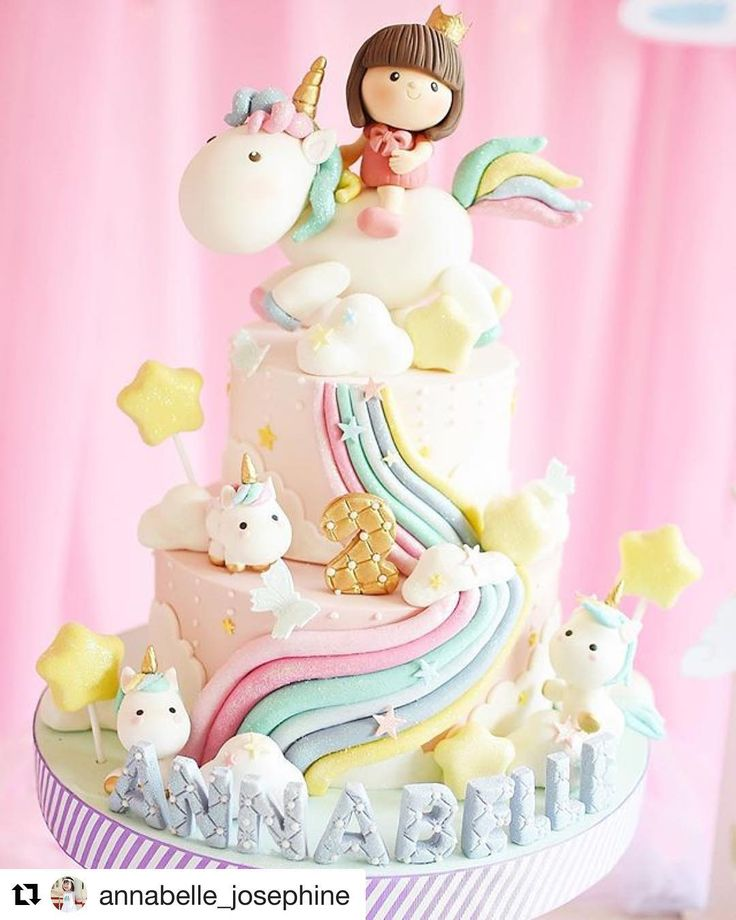 #Repost @annabelle_josephine ・・・ Who can say NO to this cute unicorn cake? By the one and only @cforcupcakes I only told the owner that the theme is unicorn, and the team made it into such details, including Annabelle's brown hair riding a sparkly unicorn with a cute crown the detail is so superb and adorable, we couldn't be more grateful, thank you so much auntie Lala, @cforcupcakes and all the team who have made this dreamy dreamy cake that every mommy wanted! #twopr...