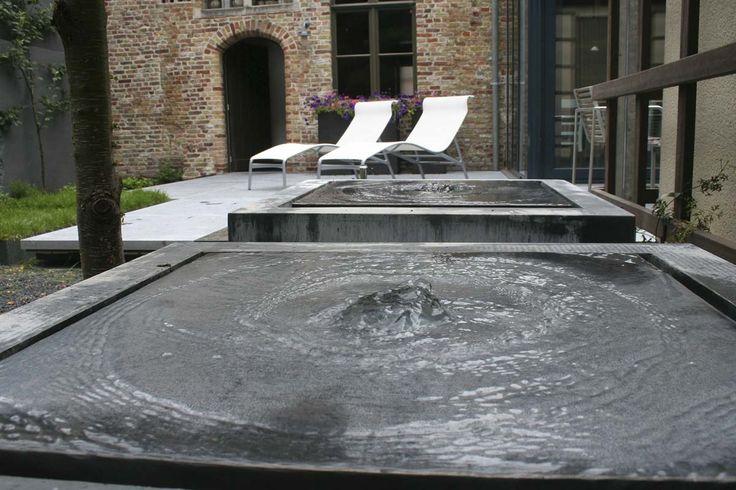 fountains     Kleine strakke tuinen | Filip Van Damme