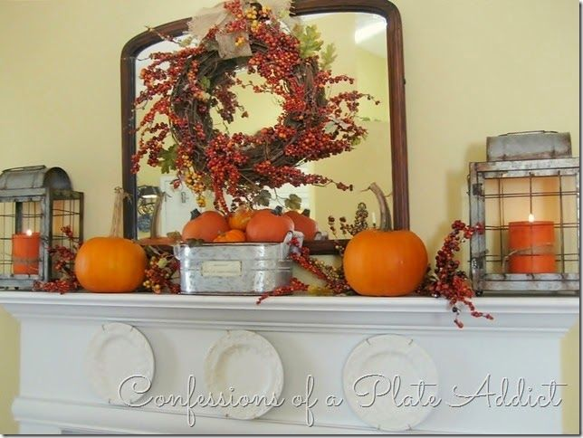 High Quality CONFESSIONS OF A PLATE ADDICT My Farmhouse Fall Mantel Good Looking